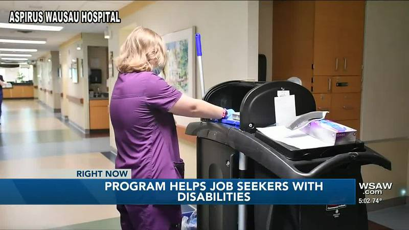 Organization helps people with disabilities find jobs