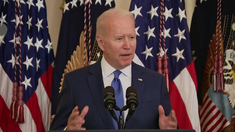 Joe Biden will travel to La Crosse, Wisconsin on Tuesday.