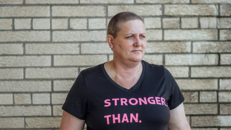 Lori Stushek, diagnosed with breast cancer in June of 2021, is sharing an important message...