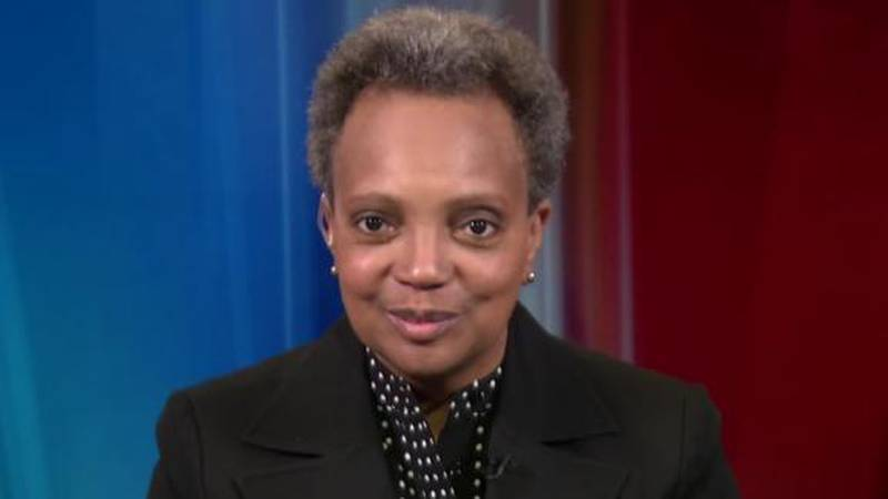 Chicago Mayor Lori Lightfoot says she will only grant one-on-one interviews to minority...