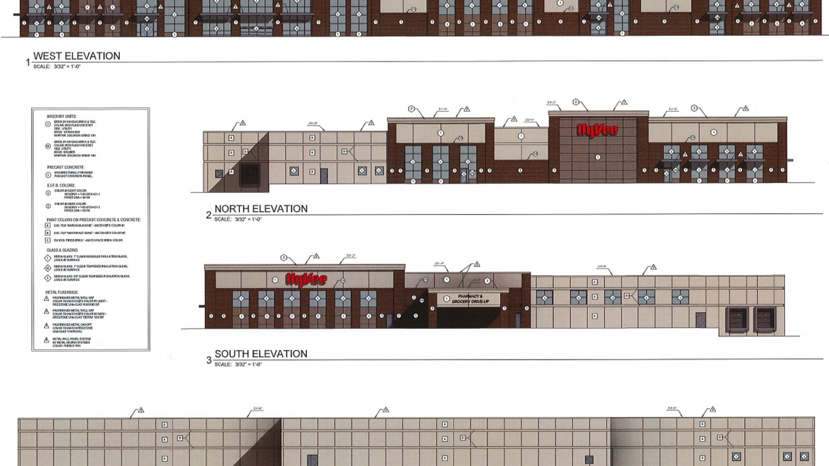 Hy-Vee's site plan was approved at Monday's Planning Commission meeting.