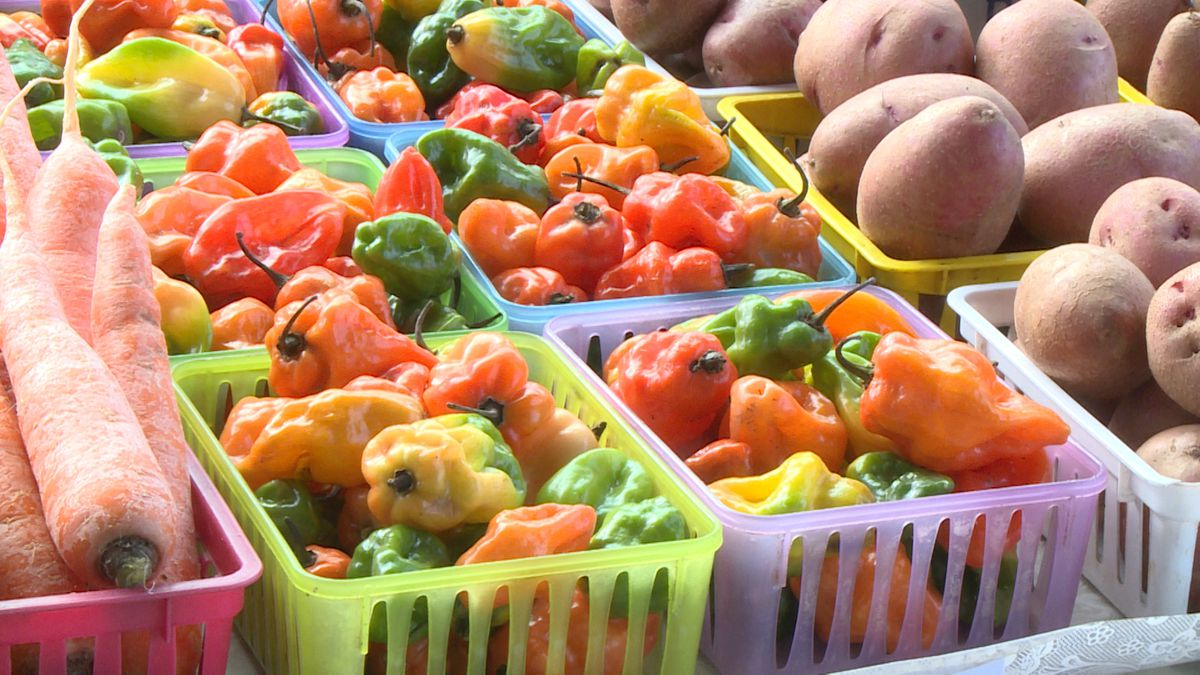 In addition to fresh produce, vendors will have baked goods, meat, eggs, seafood, and prepared...