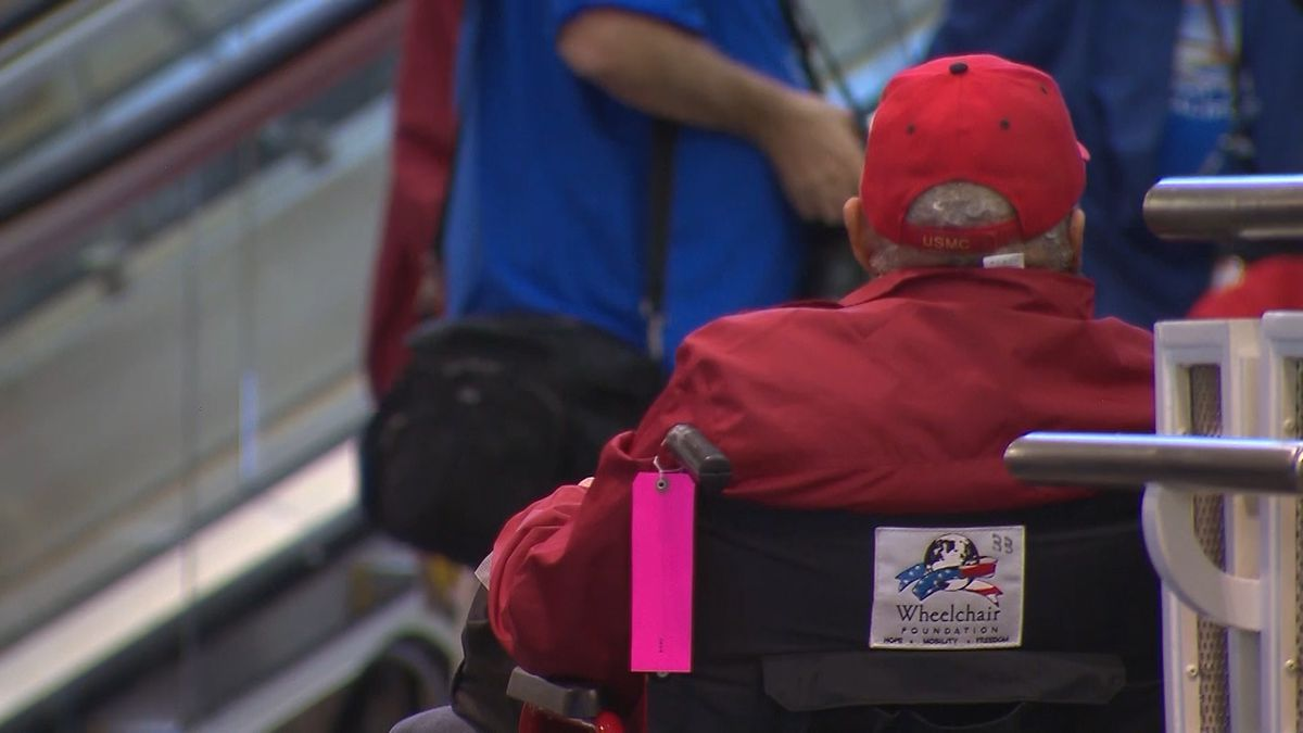 Veterans who need customized wheelchairs are receiving care from the Minneapolis VA's rural mobile clinic. (Source: CNN)