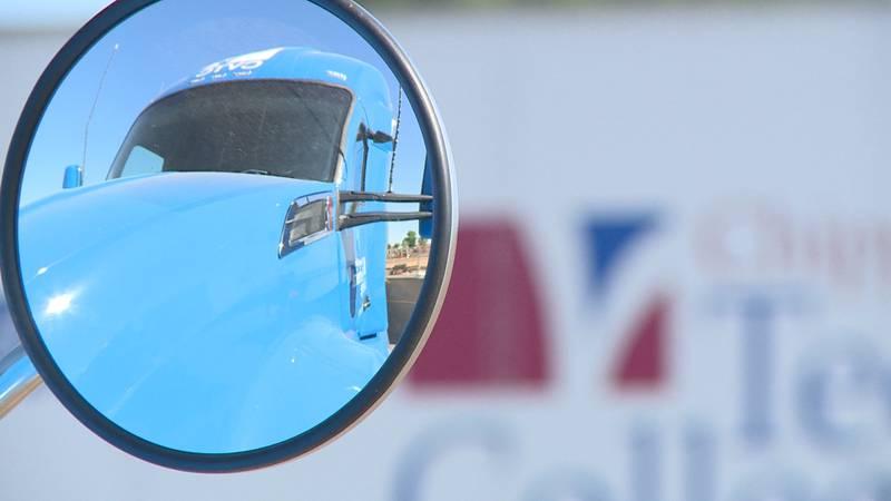 CVTC truck driving program.