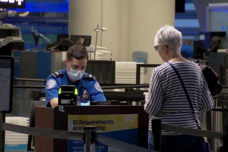 The Transportation Security Administration announced that 2.03 million travelers were screened...