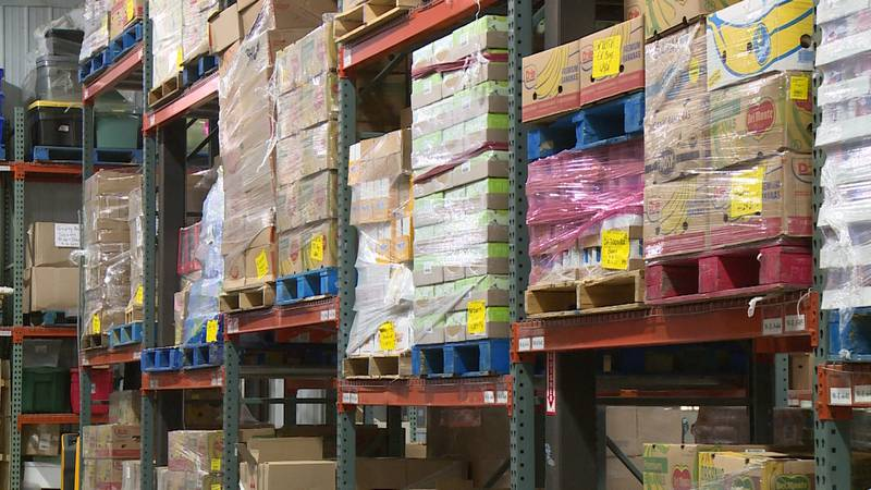 Demand for services from Feed My People Food Bank in Eau Claire was up five percent in the...
