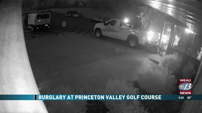Burglary at Princeton Valley Golf Course