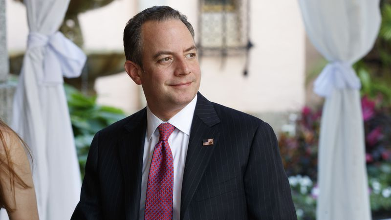 FILE - In this Dec. 28, 2016 file photo, Reince Priebus, then chief of staff for...