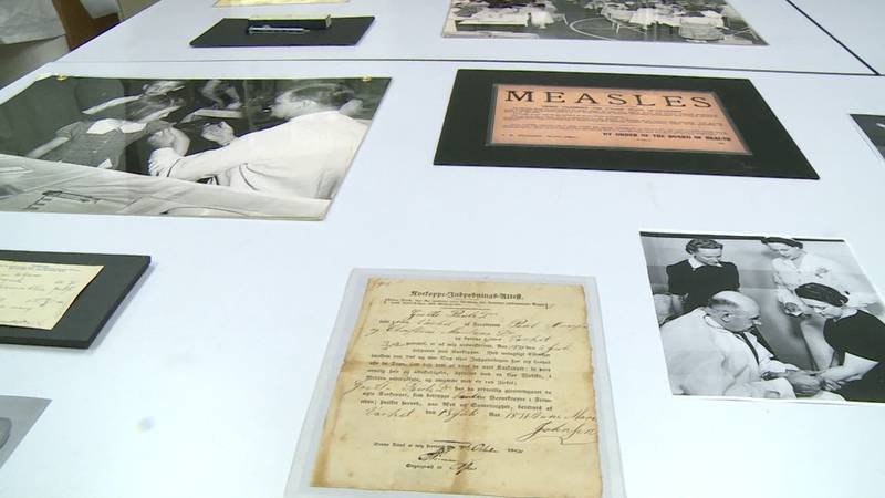Chippewa Valley Museum archives hold artifacts of pandemics and epidemics of the past.