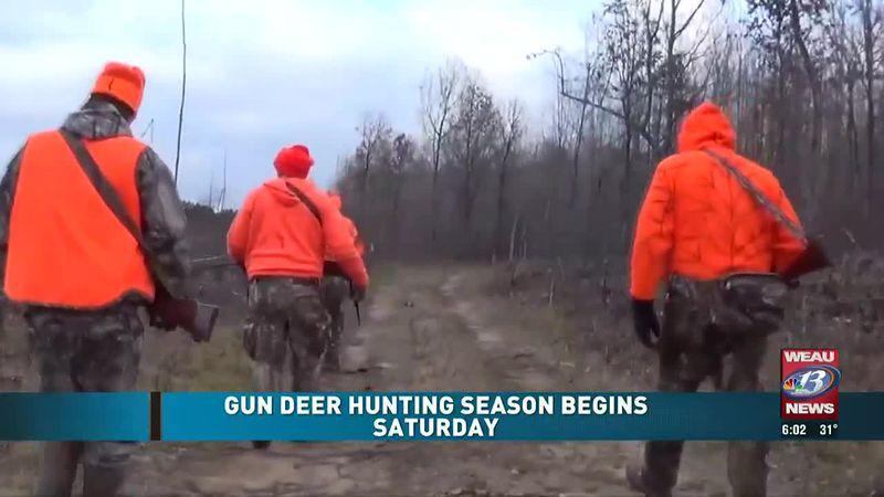 Gun Deer Hunting Season Begins (11/21/20)