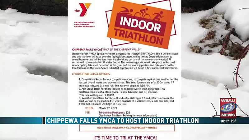 Chippewa Falls YMCA To Host Indoor Triathlon (2/28/21)