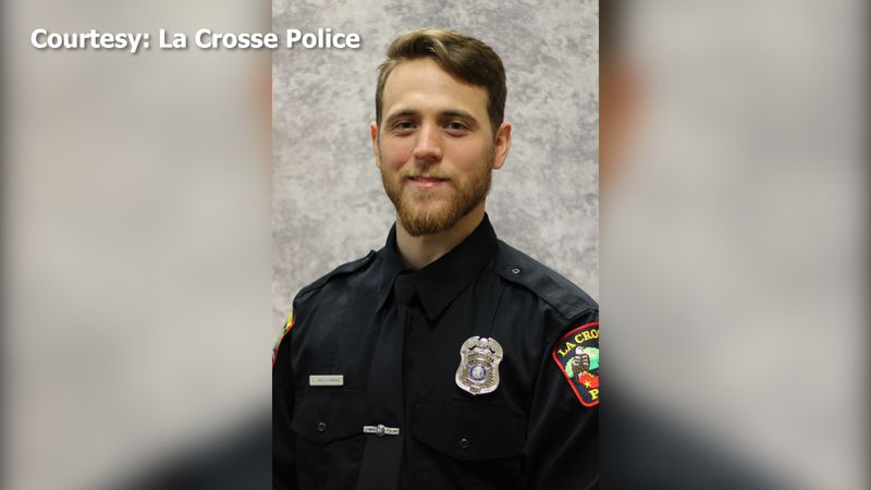 La Crosse patrol officer Conner Hjellming was recently honored for his compassionate handling...
