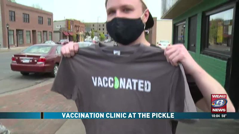 Vaccination Clinic at the Pickle