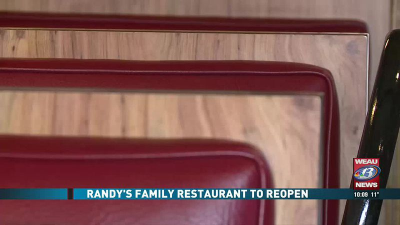Randy's Family Restaurant To Reopen (1/24/21)