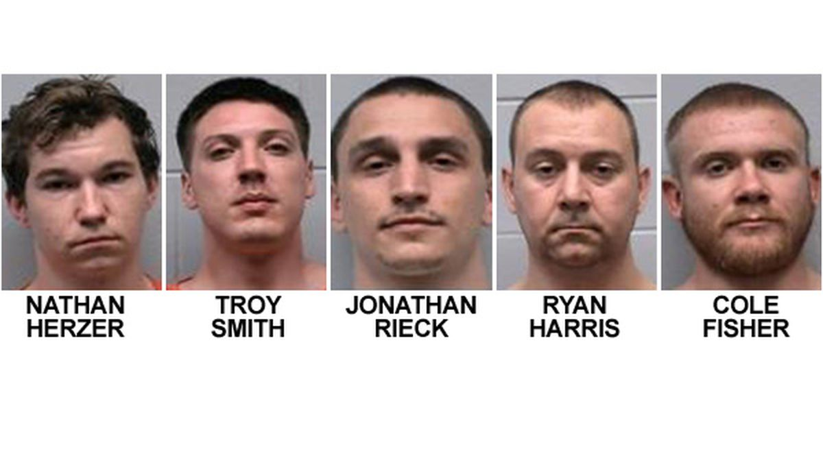 Police Respond To Community Correctional Facility Make 5 Arrests