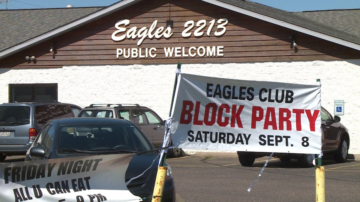 The Eagles Club holds its annual Lake Hallie Block Party