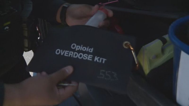 Throughout the COVID-19 pandemic, there has been a spike in overdoses.