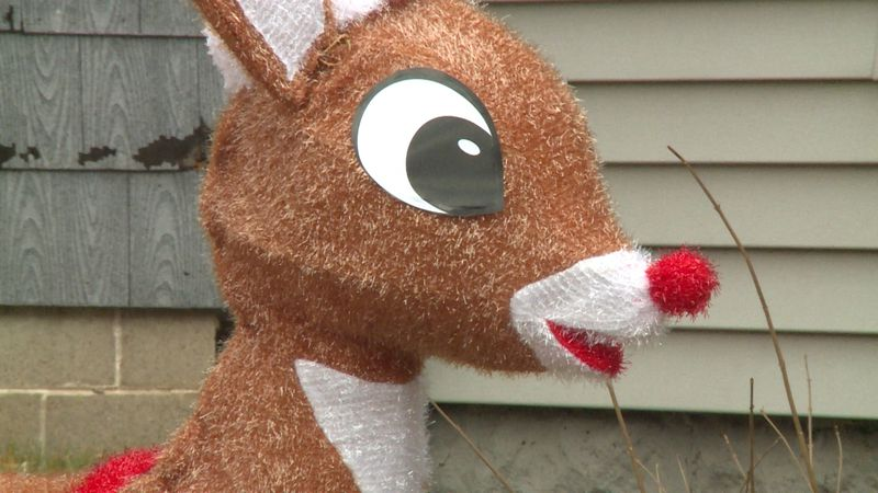 The search for Santa's nine meandoring reindeer before Christmas is underway in Eau Claire's...