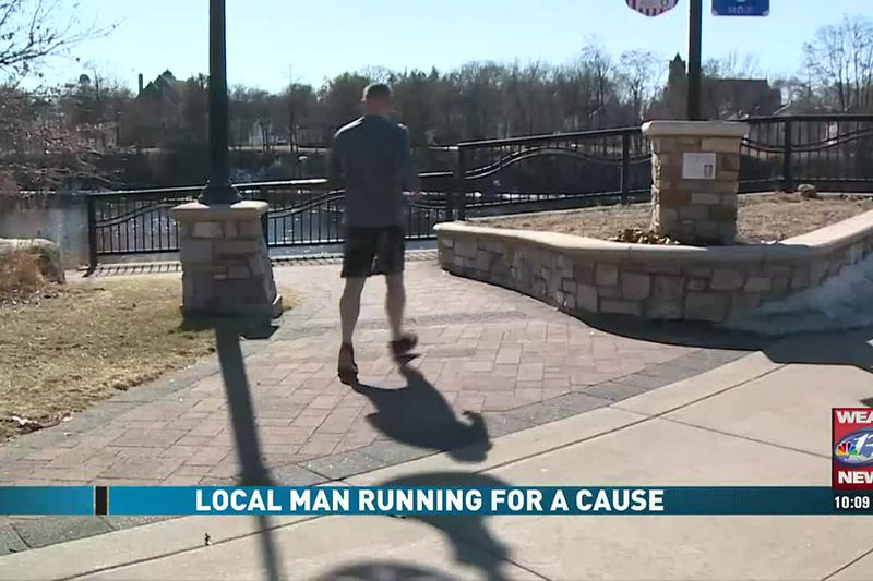 Local Man Running For A Cause (3/6/21)