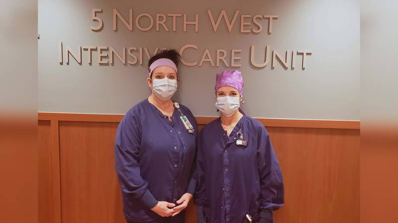 Two nurses share their message to the community—and how a special bond gets them through the...