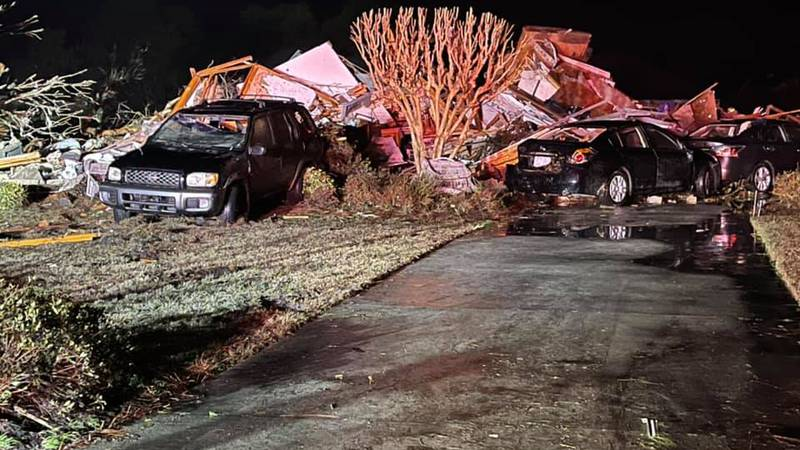 North Carolina authorities say at least three people are dead and 10 others were injured after...