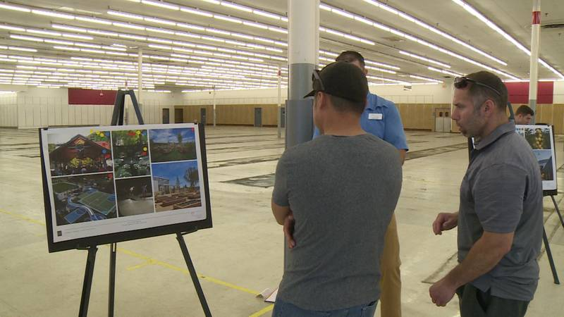 An open house was held at the former Kmart in La Crosse