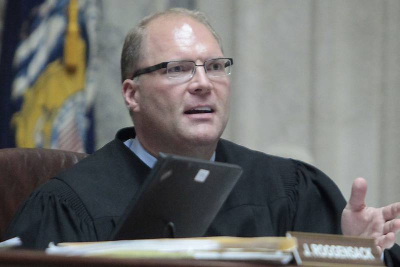 File - In this June 6, 2011 file photo, Wisconsin Supreme Court Justice Michael J. Gableman,...