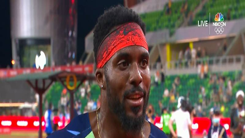 Rice Lake-native Kenny Bednarek finishes 2nd in men's 200 meters, qualifies for Olympics
