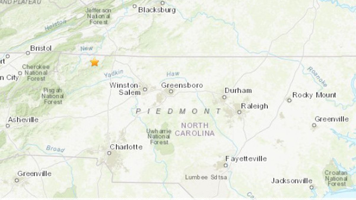 5.1 magnitude natural disaster rattles Virginia-North Carolina boarder; report