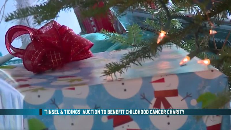 Tinsel and Tidings Auction to Benefit Childhood Cancer Charity (11/28/20)