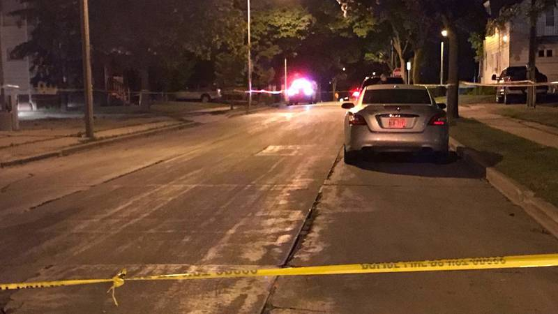 A Milwaukee Police Dept. officers shot and killed an armed suspect who refused to put down his...