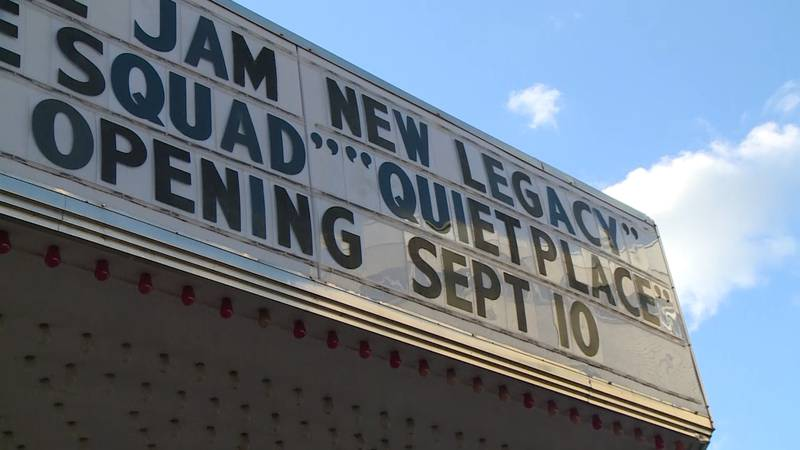 """Opening day showings Sept. 10 will include """"A Quiet Place,"""" """"Space Jam,"""" and """"Suicide Squad."""""""