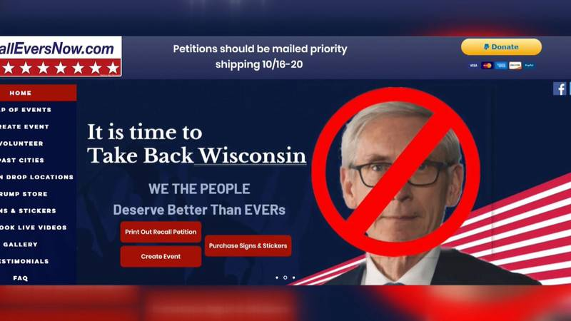 A group called 'Recall Gov. Tony Evers Now' is circulating a petition, the deadline for more...