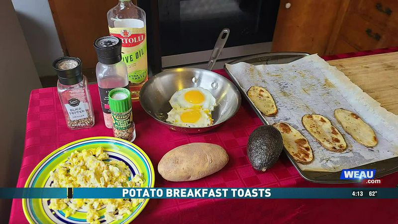 Potato Breakfast Toasts (4/16/21)