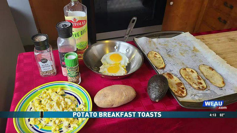 Potato Breakfast Toasts (4/16/21)