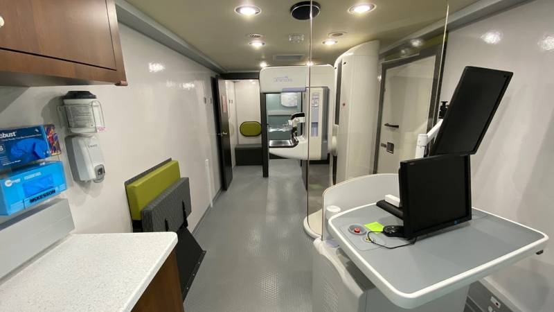 The mobile mammography bus will be visiting 13 counties starting in June.