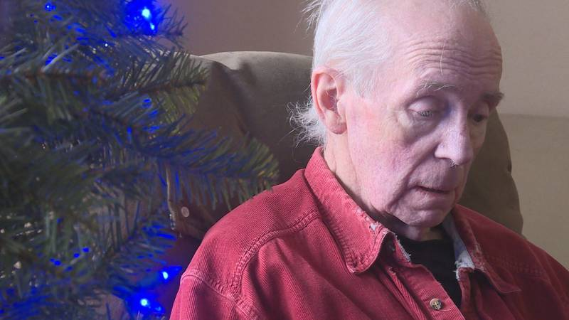 Pat Huber is home for Christmas, after four months hospitalized.