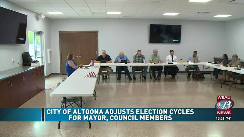 City of Altoona Adjusts Election Cycles