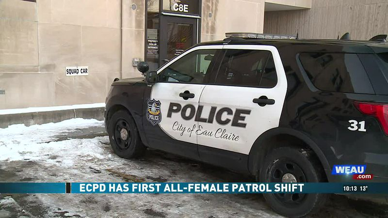 ECPD Has First All-Female Patrol Shift