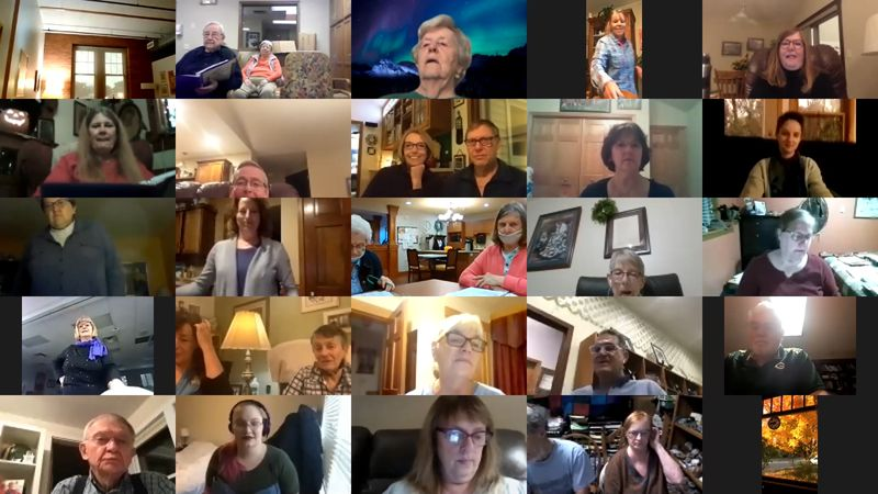 Stand in the Light Memory Choir will be live streaming their 'Virtual Showcase' from their...