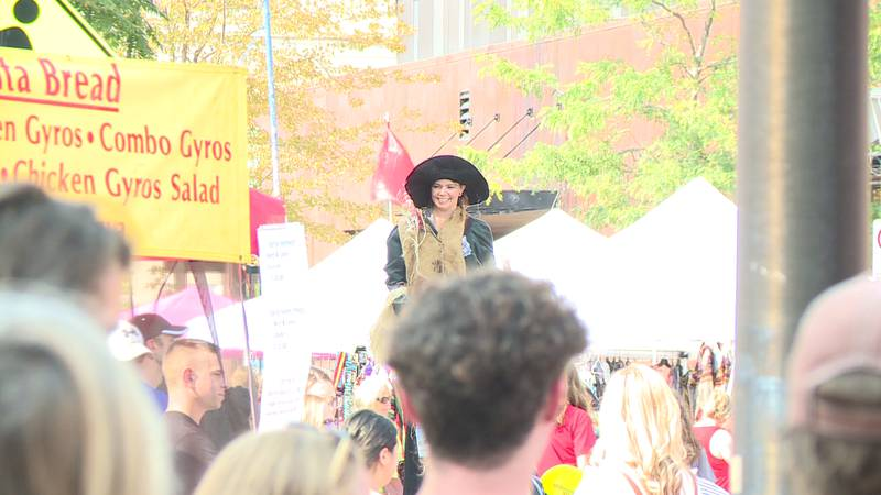 Downtown Eau Claire hosted its annual International Fall Festival