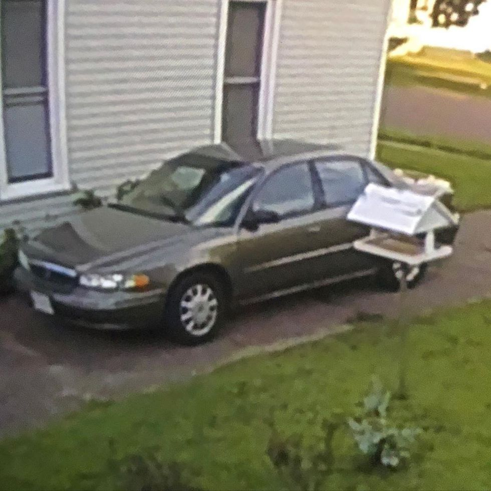 Altoona PD gave this image of the car Coffield was last seen driving.