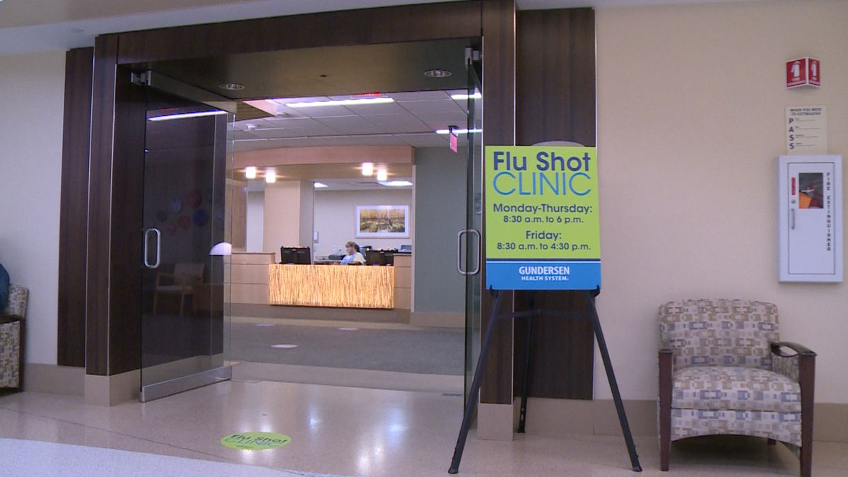 Flu shot clinics in La Crosse see high turnout in first few weeks.