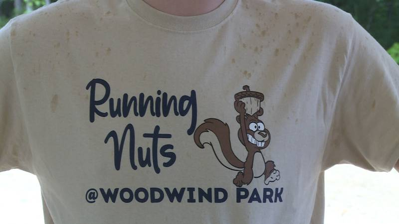 """WoodWind Park near Wheeler hosted the inaugural """"Running Nuts Trail Run"""" to raise money for the..."""