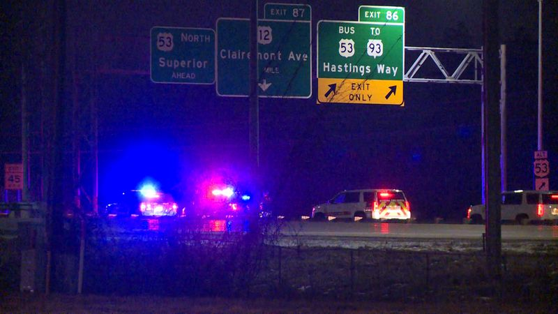 Highway 53 is back open after a crash overnight, shut down the highway for several hours.