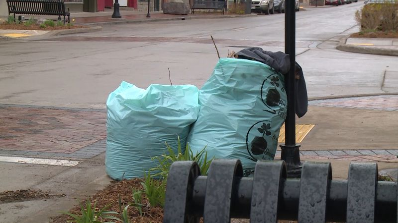 The Amazing Eau Claire Clean-Up saw over 900 volunteers Saturday.