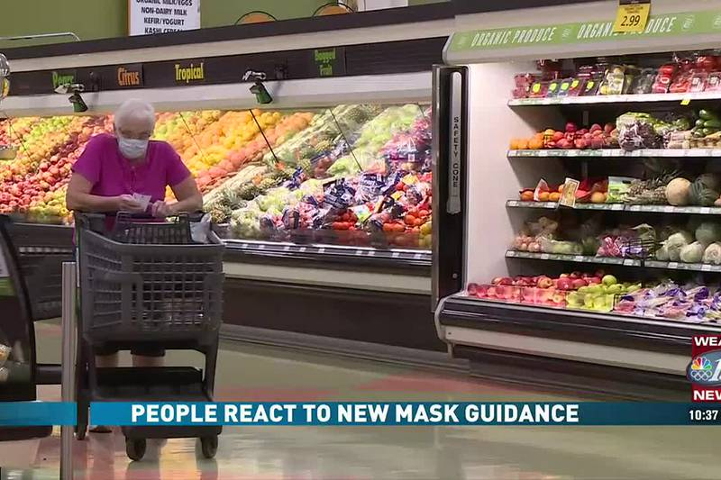 People React To New Mask Guidance
