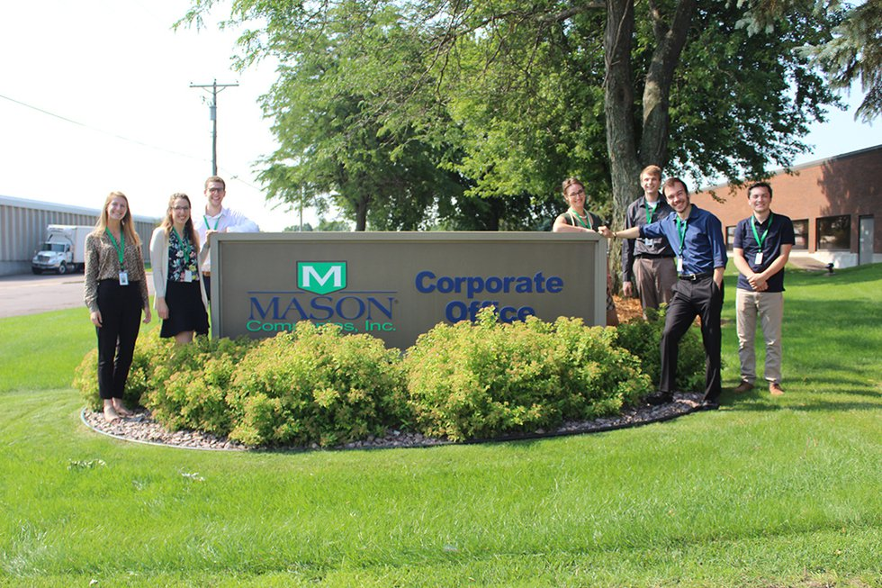 image of a group of interns