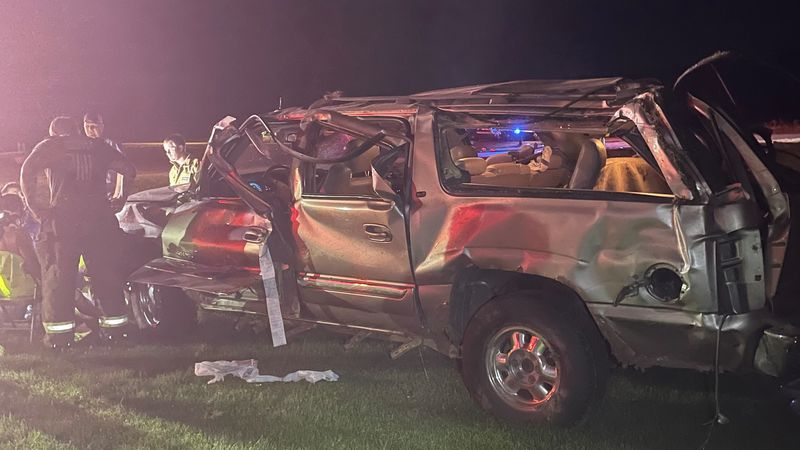 A single-vehicle rollover crash in Buffalo Co. Friday, June 18, 2021 resulted in minor injuries...