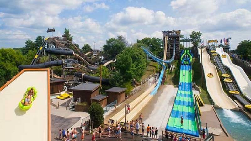 Noah's Ark Waterpark in Wisconsin Dells (Source: Wisconsin Dells Visitor & Convention...